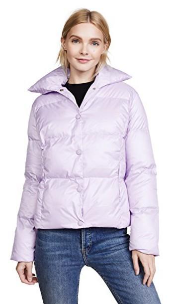 Lioness jacket bomber jacket lilac
