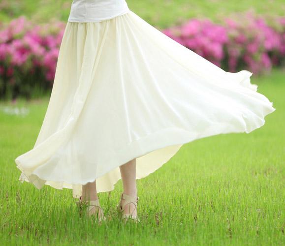 Dream  Chiffon Skirts - OASAP.com