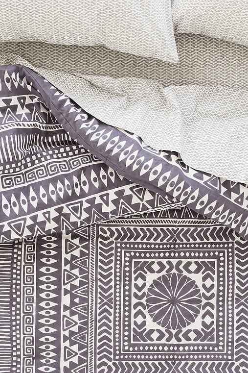 Magical Thinking Printed Woodblock Comforter Snooze Set - Urban Outfitters
