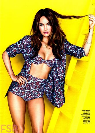 jacket megan fox swimwear