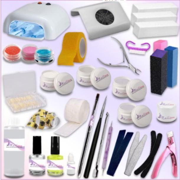 nail polish, kit gel uv, nails, style, italiano, nail accessories ...