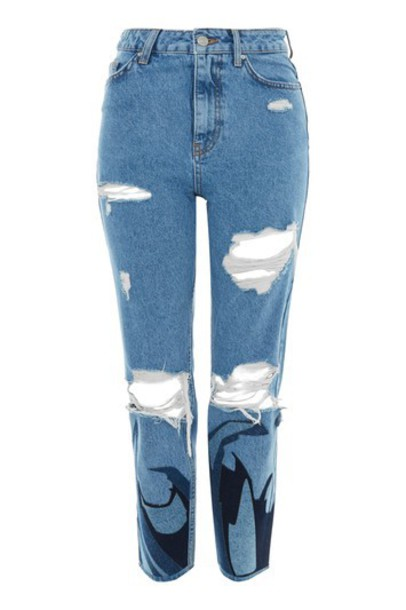 Topshop jeans mom jeans