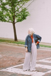 styles by hannah riles,blogger,blouse,jacket,shoes,jewels