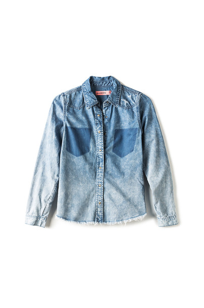 BLANKNYC top denim top denim