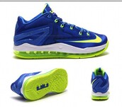 shoes,lebron xi low,low,blue,green,nike air,lebrons shoes,sprite,juniors,footasylum,trainers,sneakers
