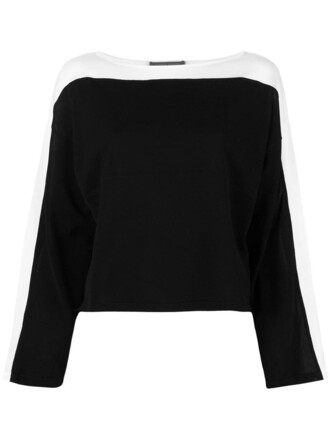 jumper women cotton black sweater
