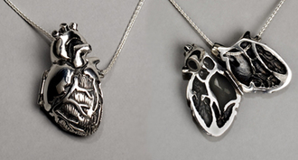 jewels necklace silver heart