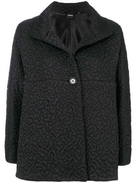 ASPESI jacket women black wool