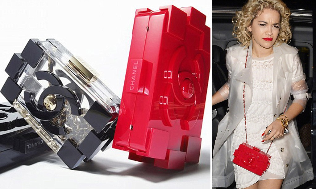 The plastic Chanel 'Lego' clutch with a £5,000 price tag set to become the 'it' bag of the summer - and it's already sold out