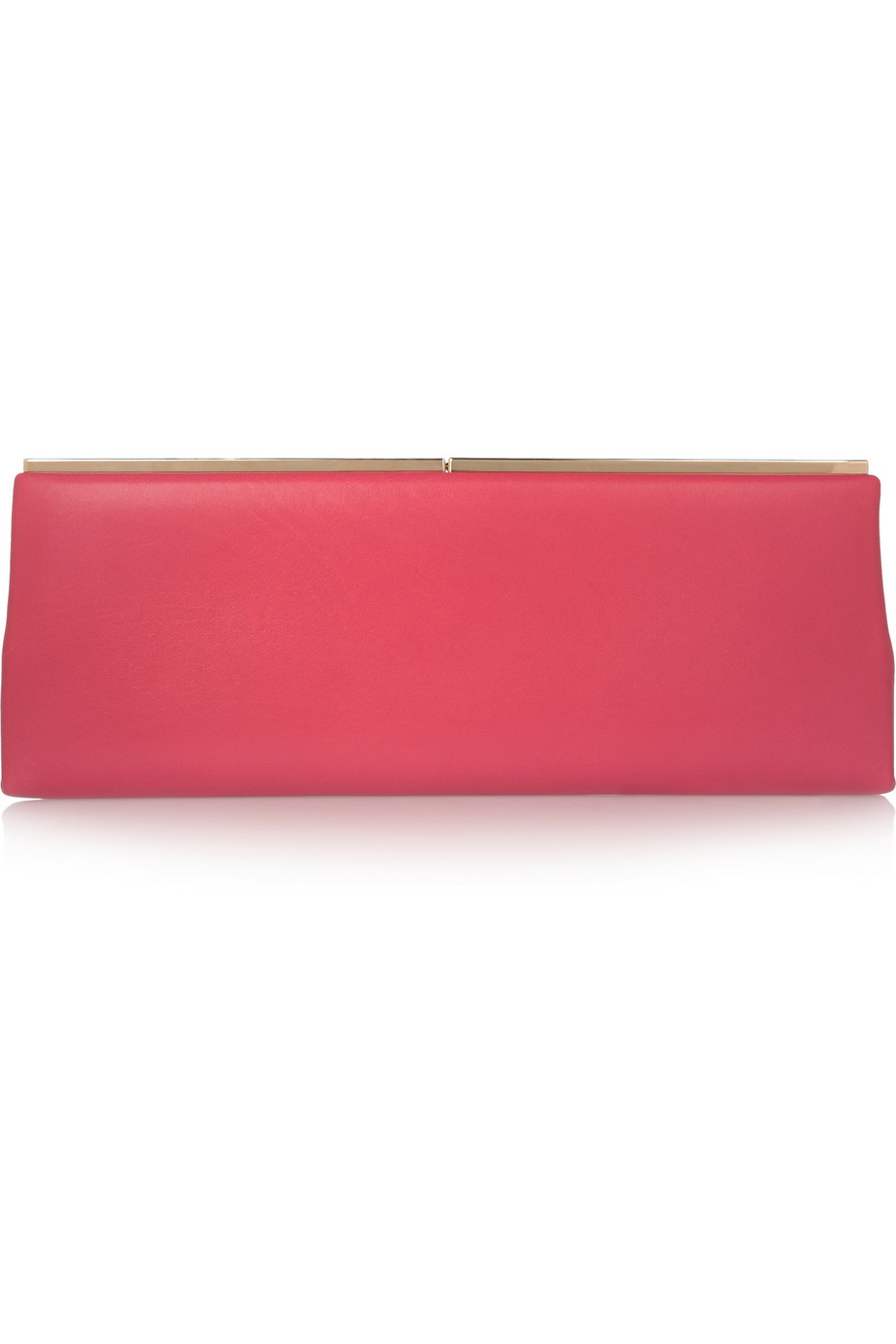 Jimmy Choo Leather clutch – 60% at THE OUTNET.COM