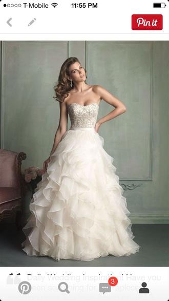 dress wedding dress long prom dress prom dress ball gown dress white dress