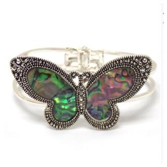 jewels abalone butterfly butterfly bracelet accessories bracelets
