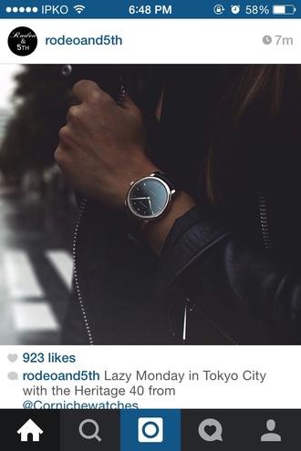 jewels watch black watch