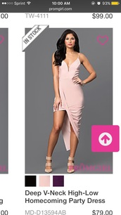 dress,pink dress,high low dress,prom dress,long prom dress,backless prom dress,sexy prom dress,prom dress 2016,unique prom dresses 2016,evening dress,formal dress,formal event outfit