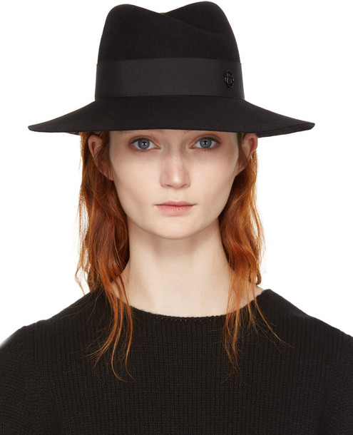 Maison Michel fedora black hat