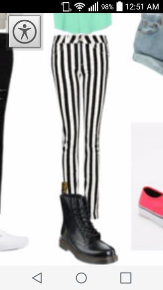 pants striped pants