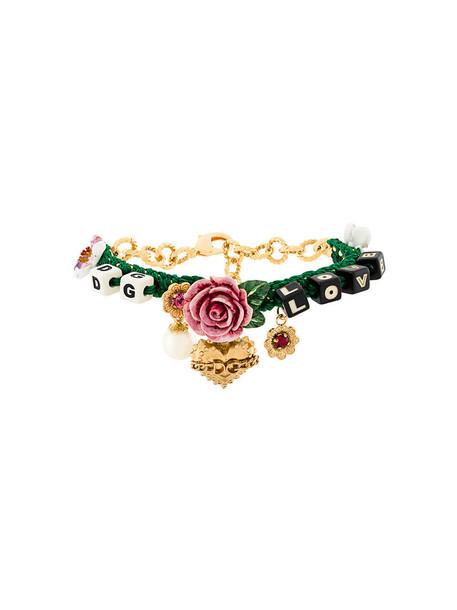 Dolce & Gabbana women charm bracelet jewels