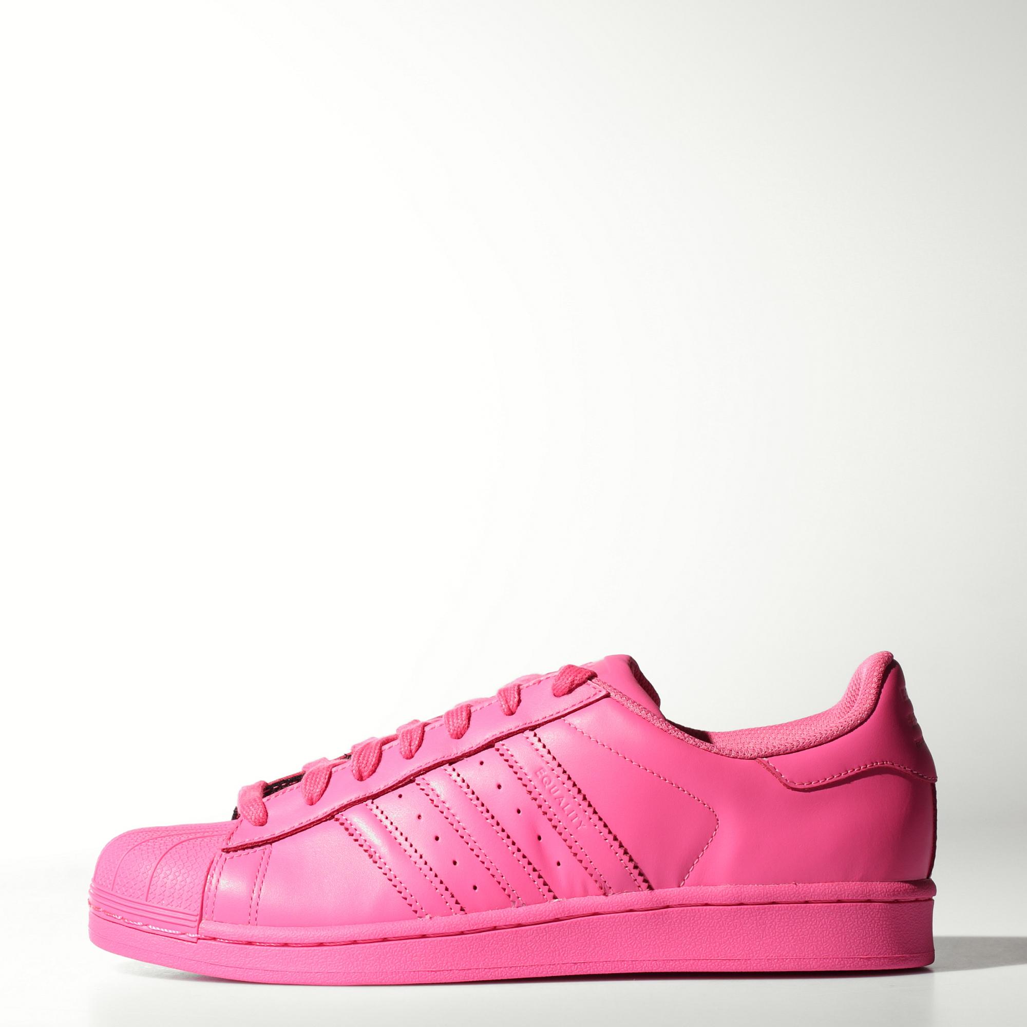 adidas rosa superstar