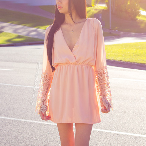 Just for love dress – honey peaches