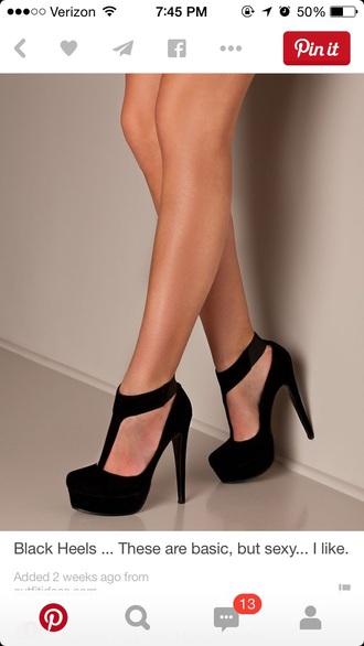 shoes high-heels shoes heels black heels sexy shoes