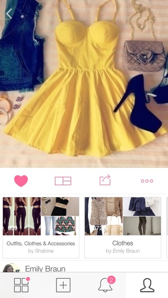 bustier dress yellow yellow dress business casual dress