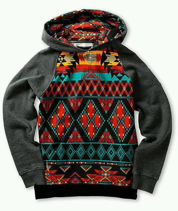 Dravus Boys Sound Aztec Hoodie