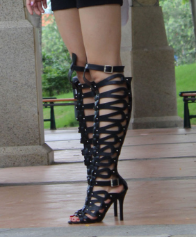 Strappy High Heels Gladiator Sandal