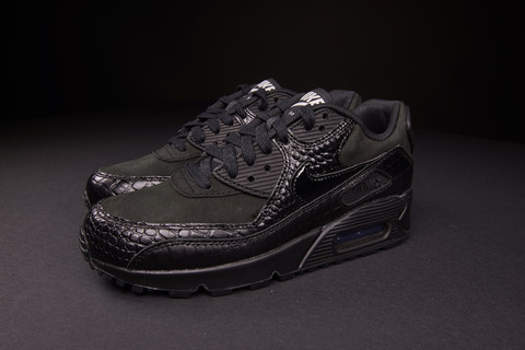 premium selection 8d7f8 351f5 ONENESS BOUTIQUE — WOMENS NIKE AIR MAX 90 PREMIUM BLACK CROC