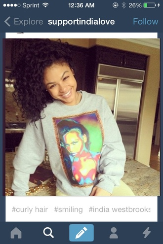 sweater india westbrooks india love cassie ventura cassie cute thanks