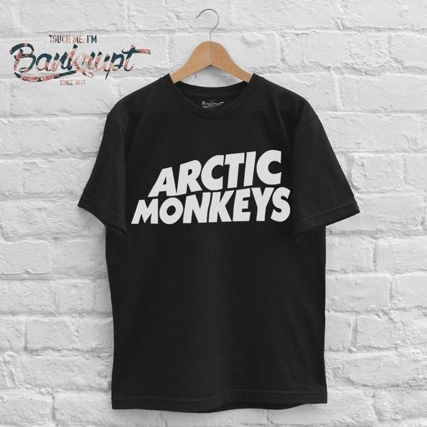 t-shirt arctic monkeys clothes band t-shirt b&w band t-shirt merchandise am