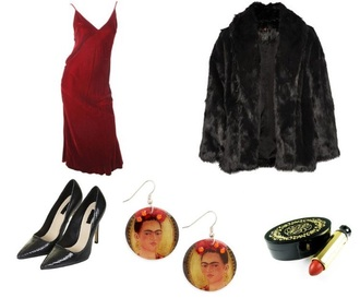 dress red grunge soft grunge vintage tumblr retro reclaimed