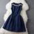 Dark Blue Dress #180 from Whitelily Fashion on Storenvy