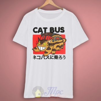 Totoro Neighbor Cat Bus T Shirt – Mpcteehouse.com