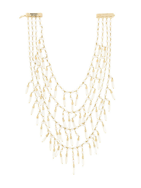 chain necklace metal women necklace pendant gold grey metallic jewels