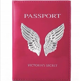 home accessory passport cover pink home decor victoria's secret summer holidays