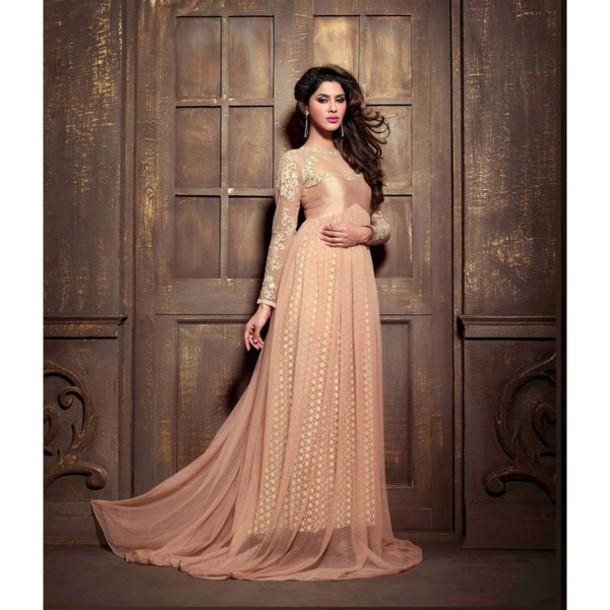 Dress Salwar Kameez Anarkali Kameez Clothes Women Fashion Women