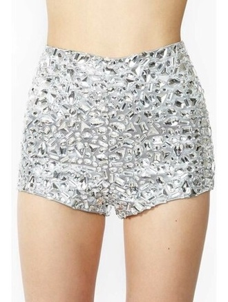 shorts short shorts hot pants high waisted shorts rhinestones diamonds jewels cute summer outfits summer shorts swimwear bikini bikini bottoms