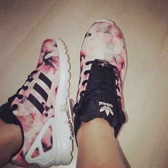 shoes adidas adidas shoes style streetwear streetstyle pink black sneakers pastel sneakers white sneakers dope india westbrooks