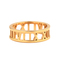 Roman empress ring - gold by thepeachbox - by thepeachbox - australia's chic, modern, and edgy fashion jewellery retailer