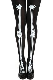 pants,skeleton,tights,pastel goth,goth,halloween,bones