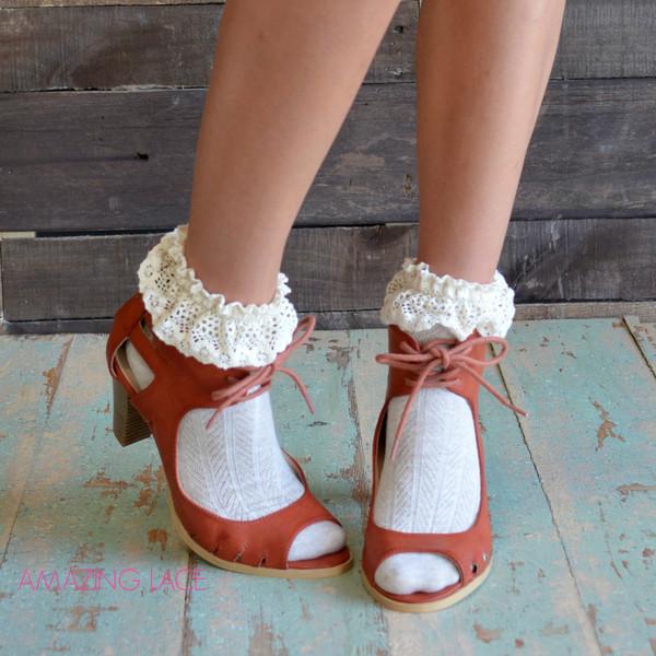 Shoes Open Toe Heels Fall Heels Cognac Heels Fall