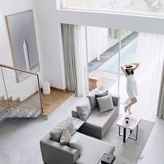 home accessory sofa rug tumblr home decor furniture home furniture living room grey table pillow