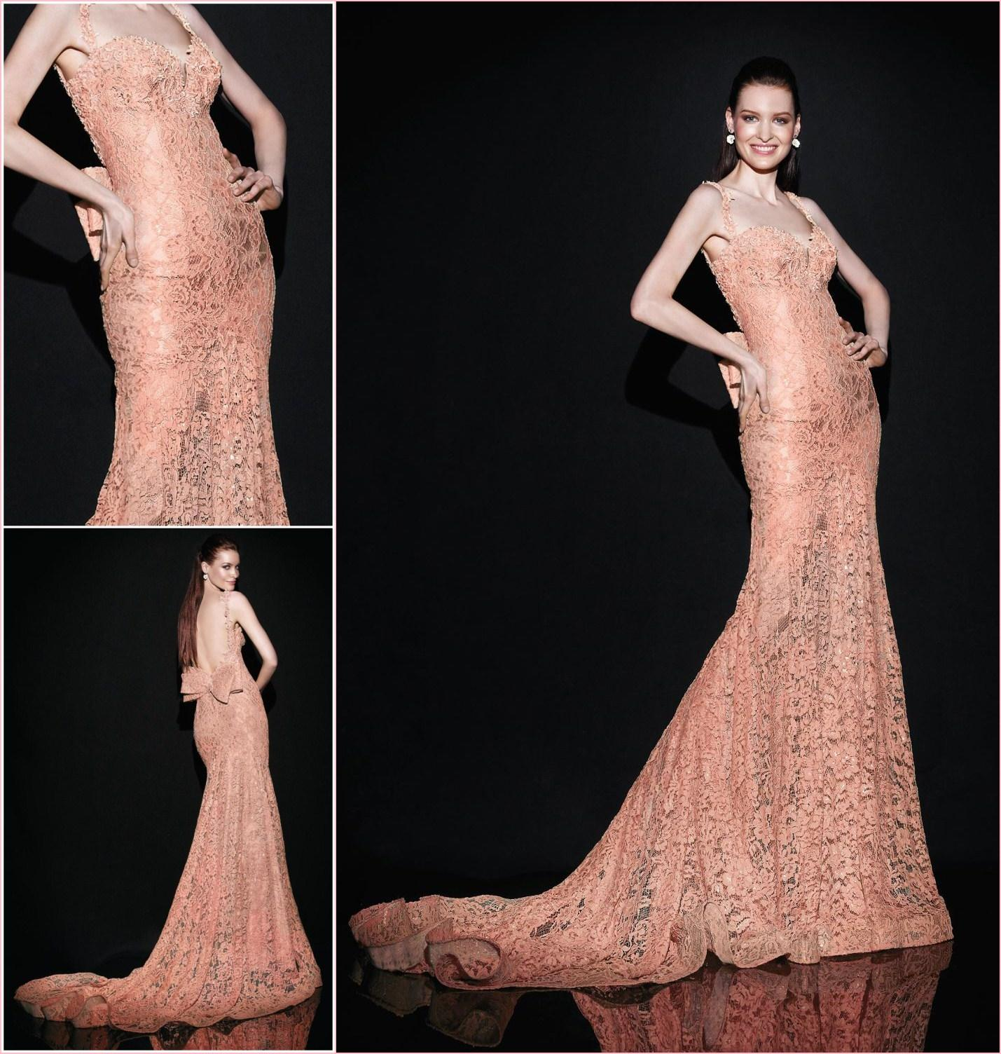 Cheap Coral Formal Dress - Discount Glamorous Tarik Ediz Coral Mermaid Evening Dresses Sweetheart Online with $144.83/Piece | DHgate