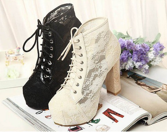 shoes high heels jeffrey campbell jeffrey campbell lita jeffrey campbell shoes lace shoes black shoes