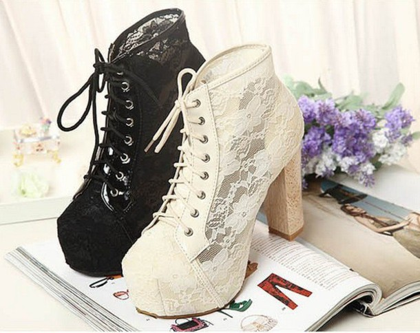 shoes jeffrey campbell jeffrey campbell lita jeffrey campbell heels lace shoes black shoes. Black Bedroom Furniture Sets. Home Design Ideas
