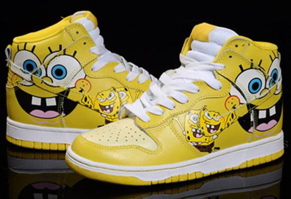 shoes amazing yellow spongebob sneakers printed sneakers