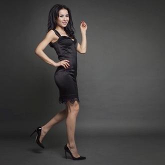 dress luiboom luina kz almaty kazakhstan black dress black dressess