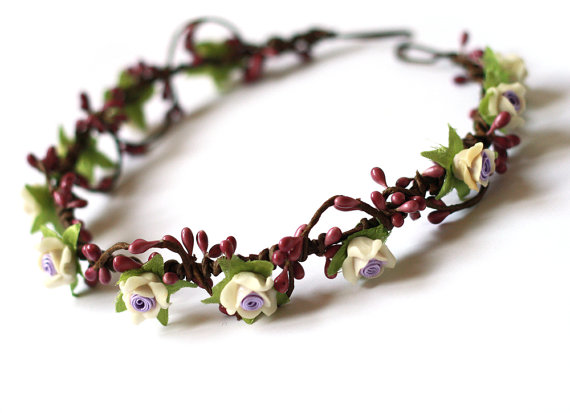 Geraldine geraldson wreath  lavender // woodland by kisforkani