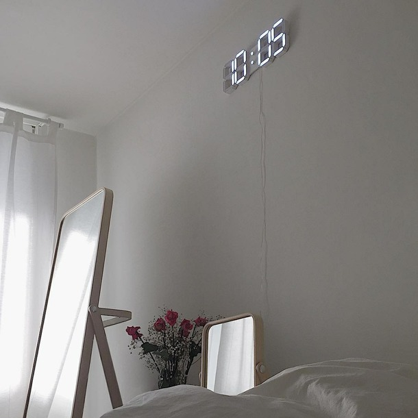 home accessory clock tumblr