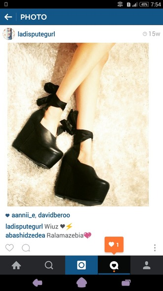 shoes platform heels platform shoes black platforms gothic black bows shoes black wedges black wedges platform wedges